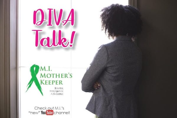 """DIVA"" Talk Card Front"